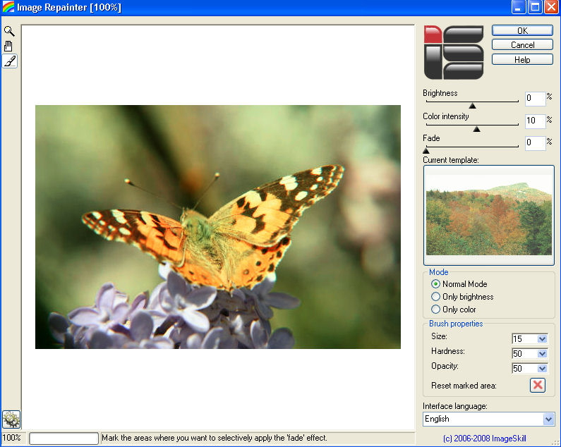 Image Repainter screenshot